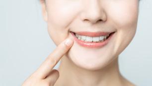 きれいな歯の写真